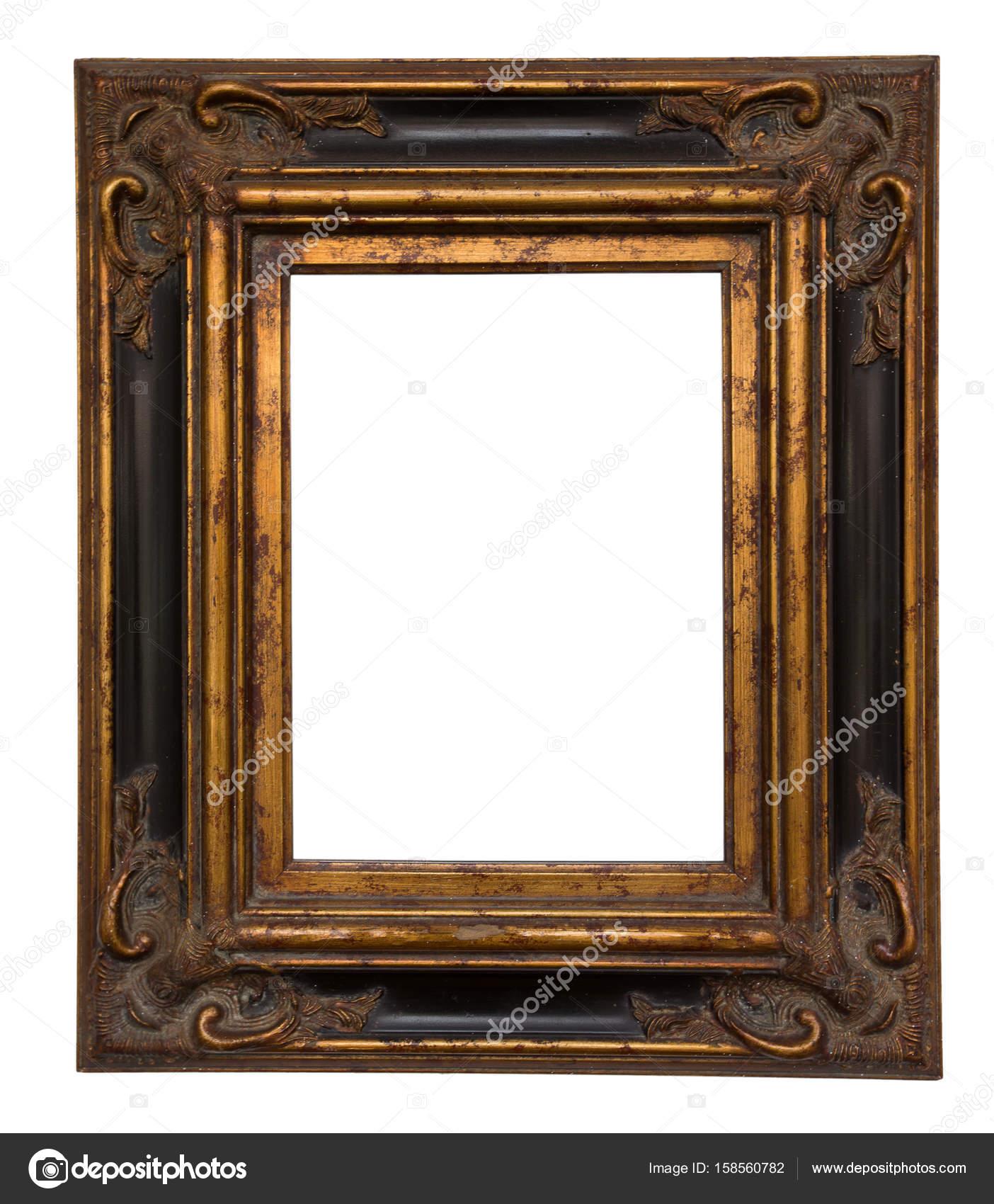 Marco de oro para pintar — Fotos de Stock © Pakhnyushchyy #158560782