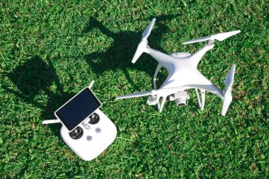 drone with control pad