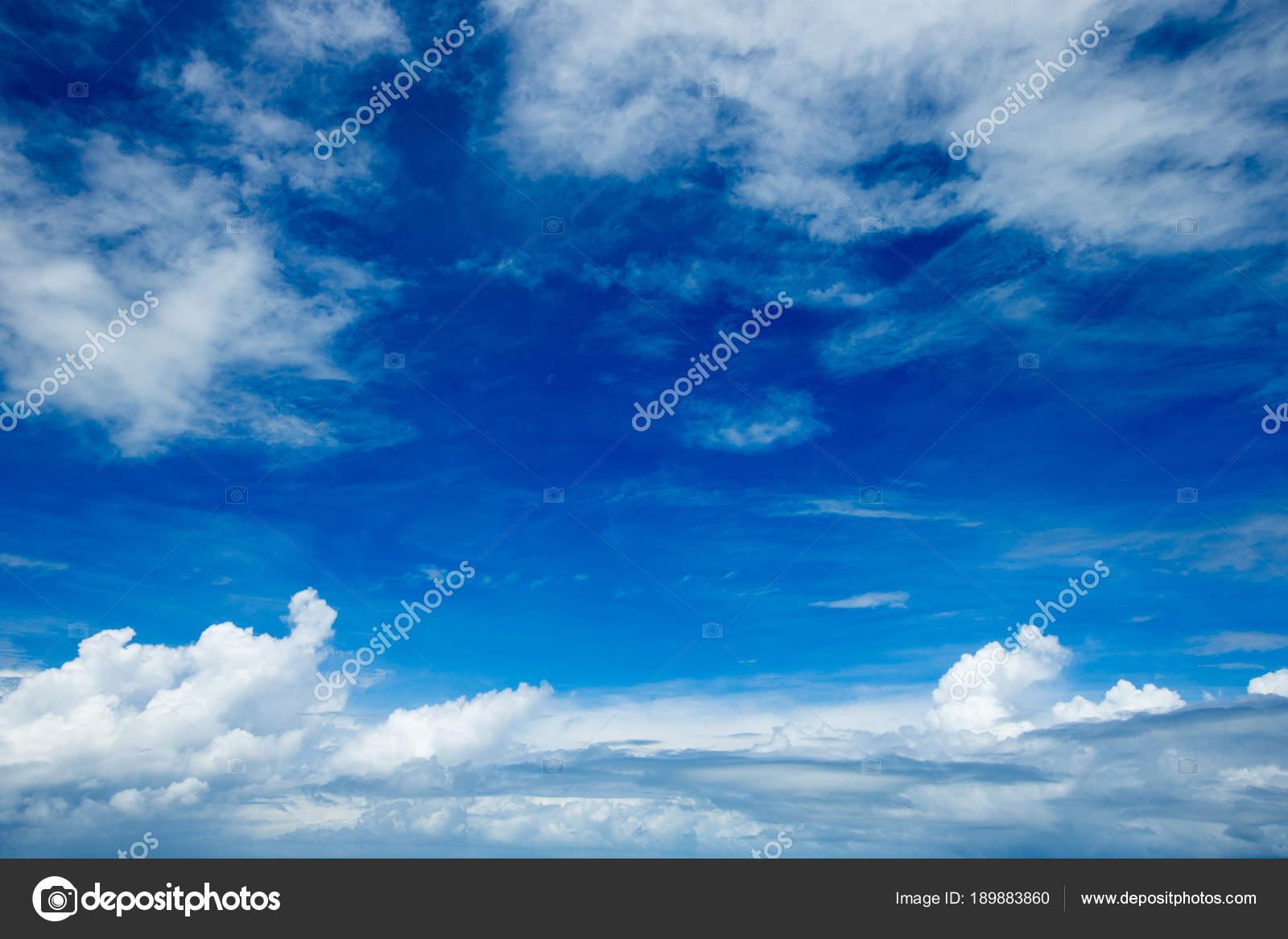 Blue Sky Background Pretty White Clouds Stock Photo C Pakhnyushchyy 189883860