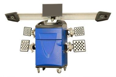 Wheel alignment equipment