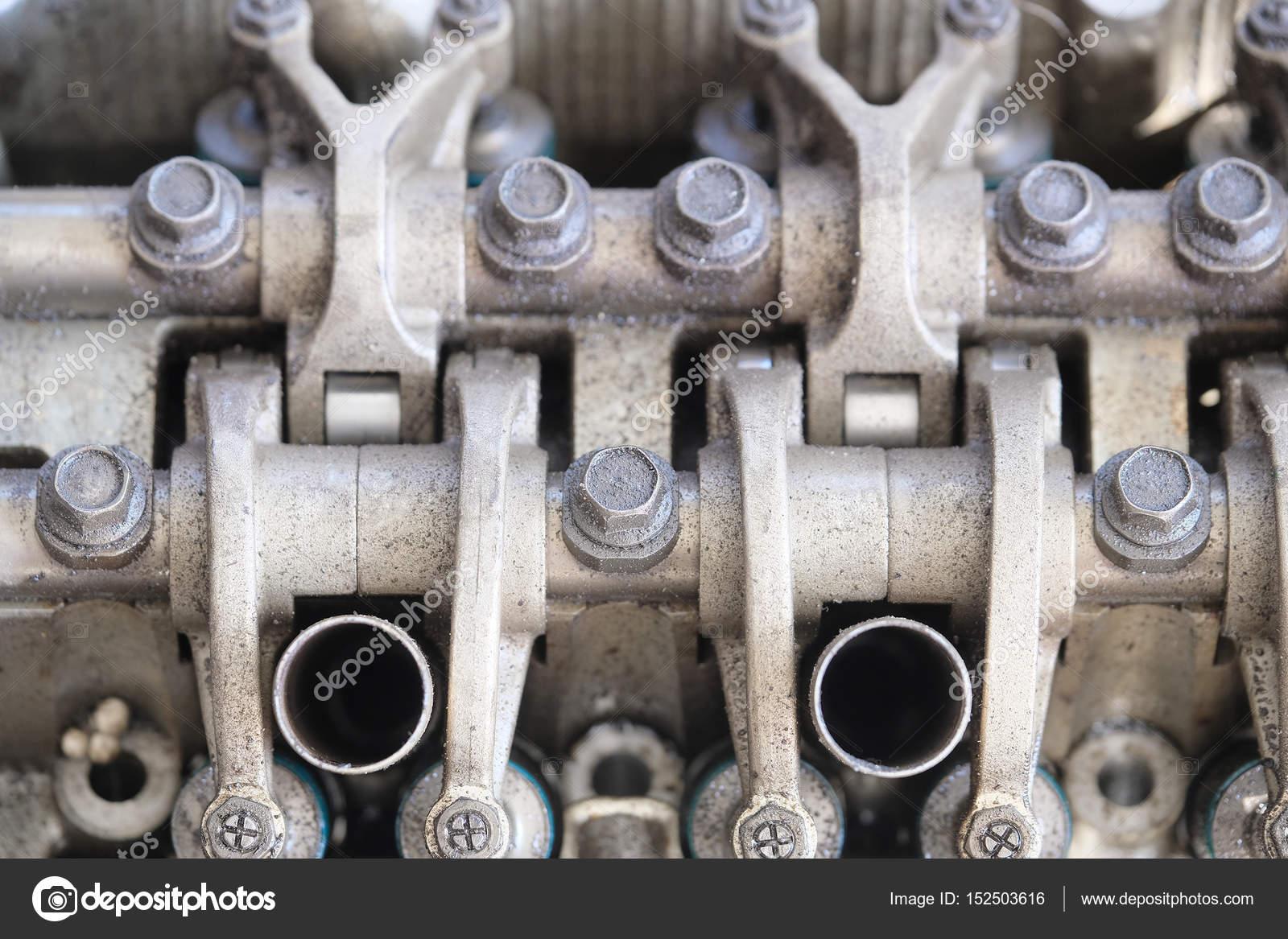 Bestandteil eines Automotors hautnah — Stockfoto © uatp12 #152503616