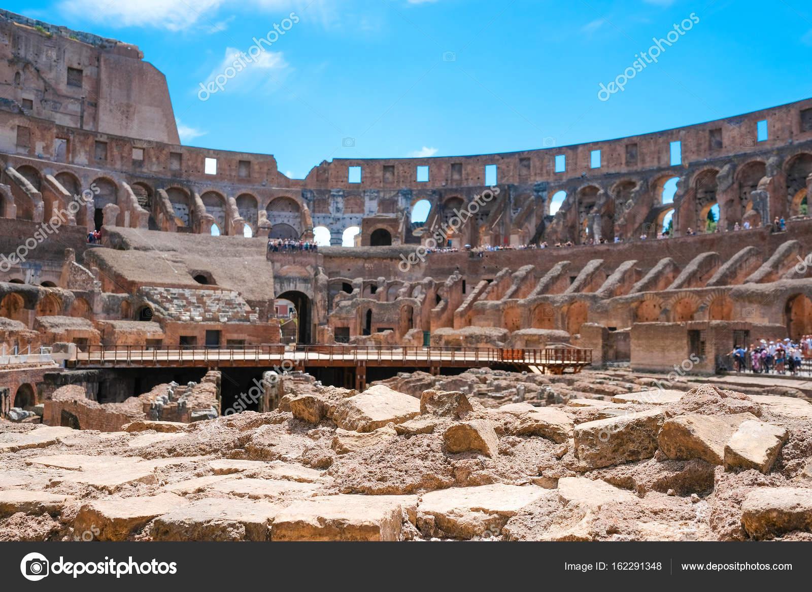 Foto Antigua Del Coliseo Romano Interior Del Coliseo Anfiteatro