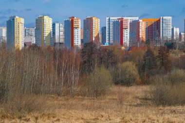 image of a new residential complex in Moscow