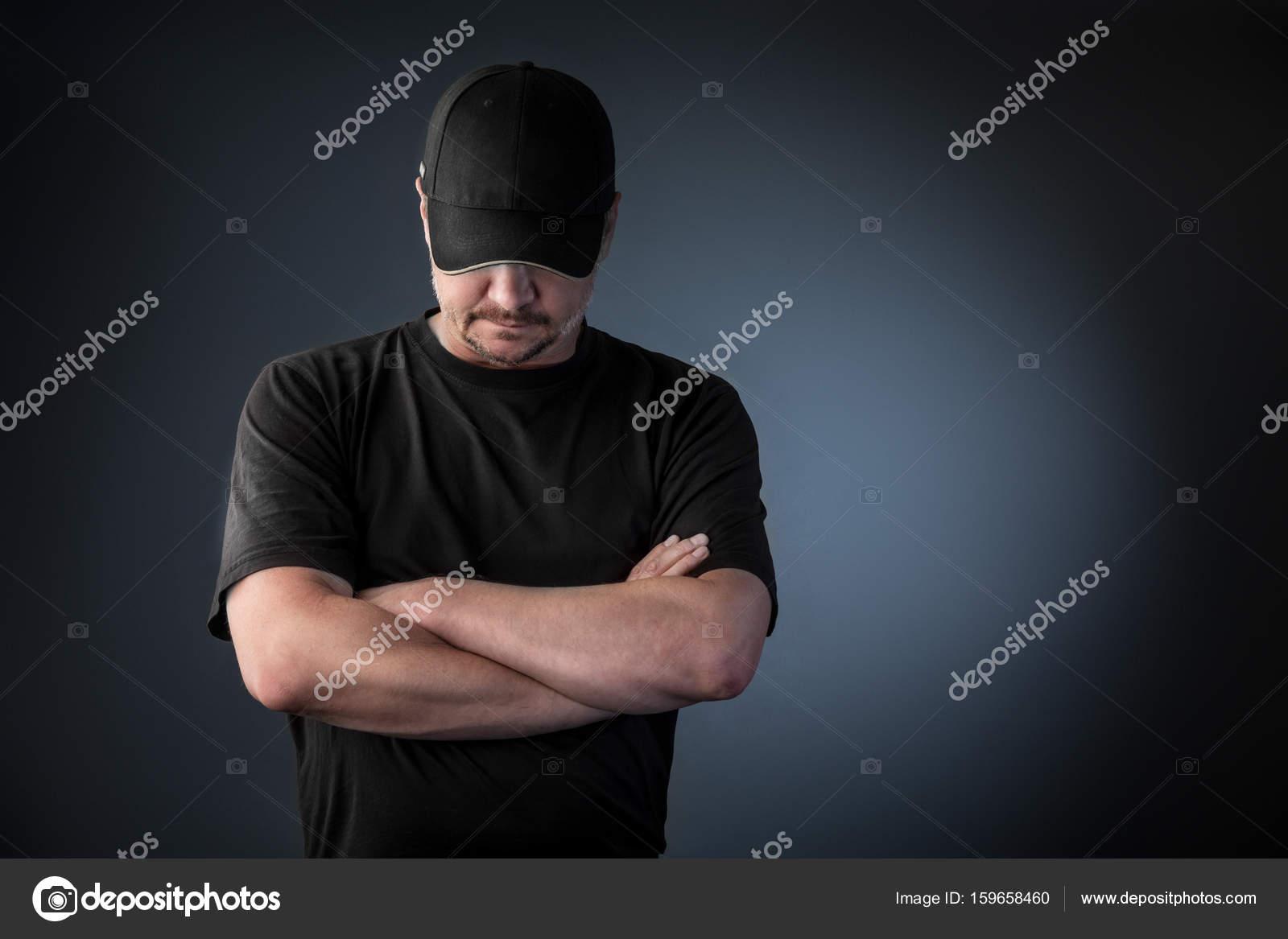 Az ember a baseball sapka — Stock Fotó © alex7021  159658460 438b8a6992