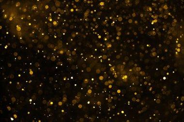 Christmas Glitter Lights Defocused Background.