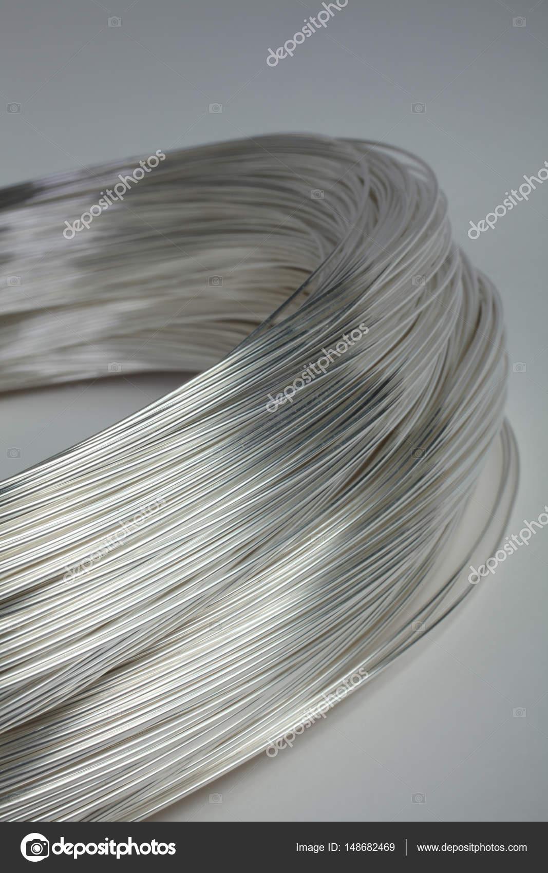 Draht aus Platin Silber Farbe für elektronische und Schmuckindustrie ...