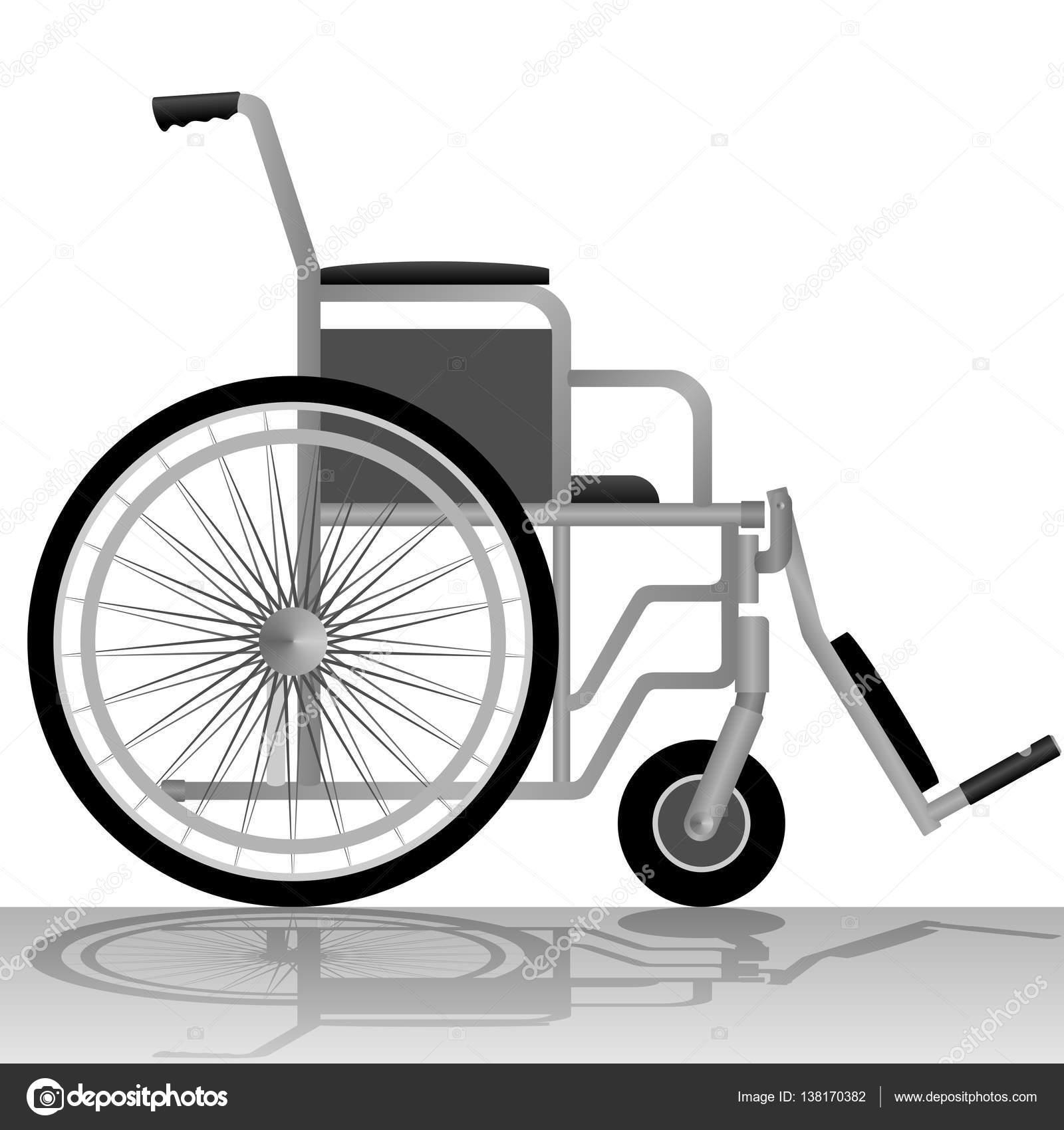 Medizinische Geräte und Werkzeuge. Rollstuhl für behinderte Menschen ...