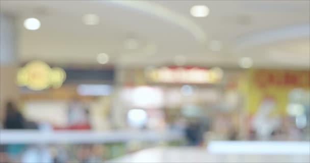 Restaurace zóny a kavárně rozostřené pozadí časosběrné záběry.