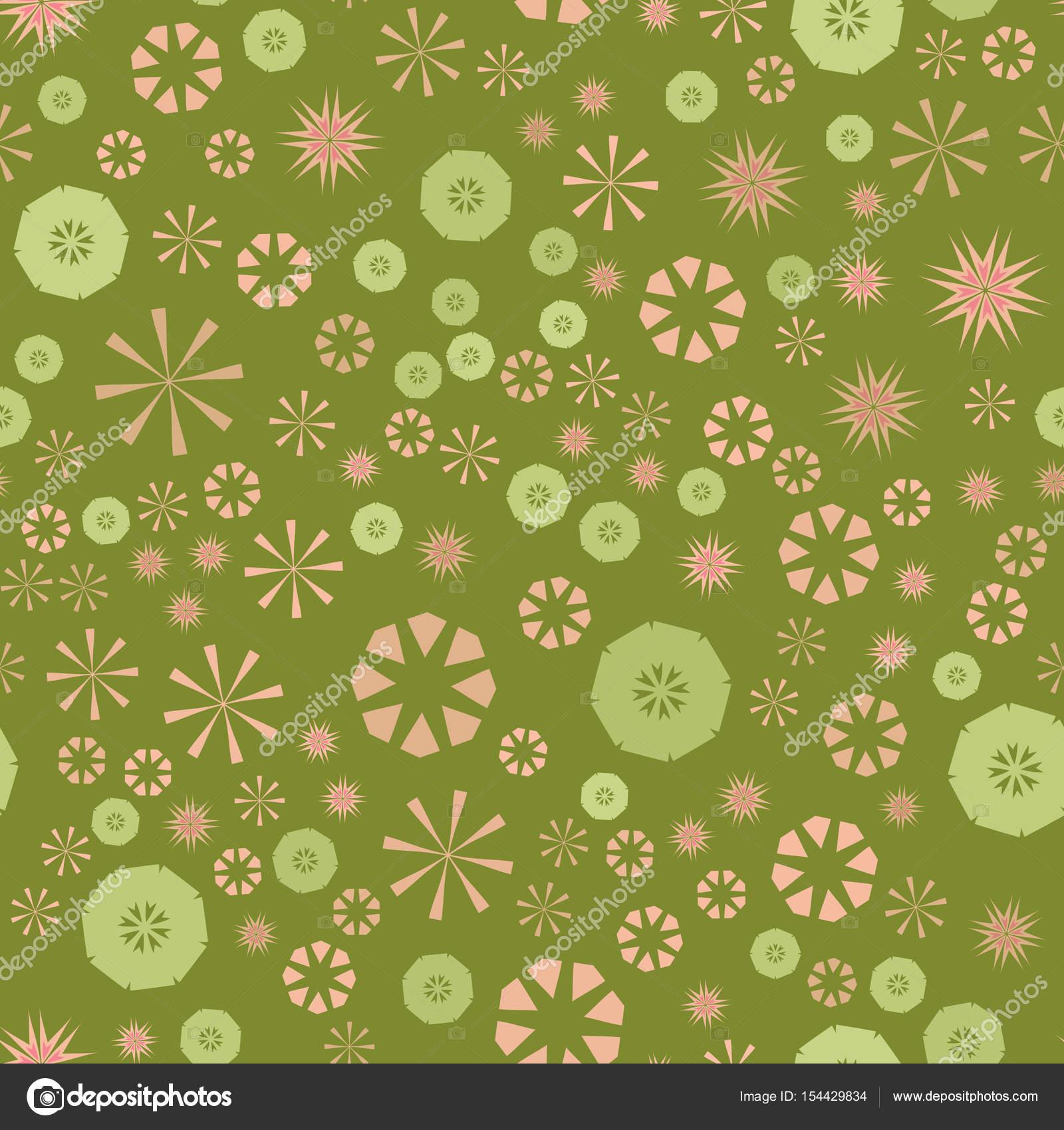 Resumen verde simple de patrones sin fisuras para el diseño. Fondo ...