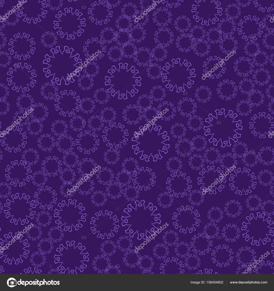 Mandala flor violeta transparente para la impresión de materia ...
