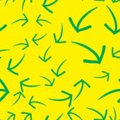 Varratmentes háttérben a nyilak. Színes design-csípő stílusban
