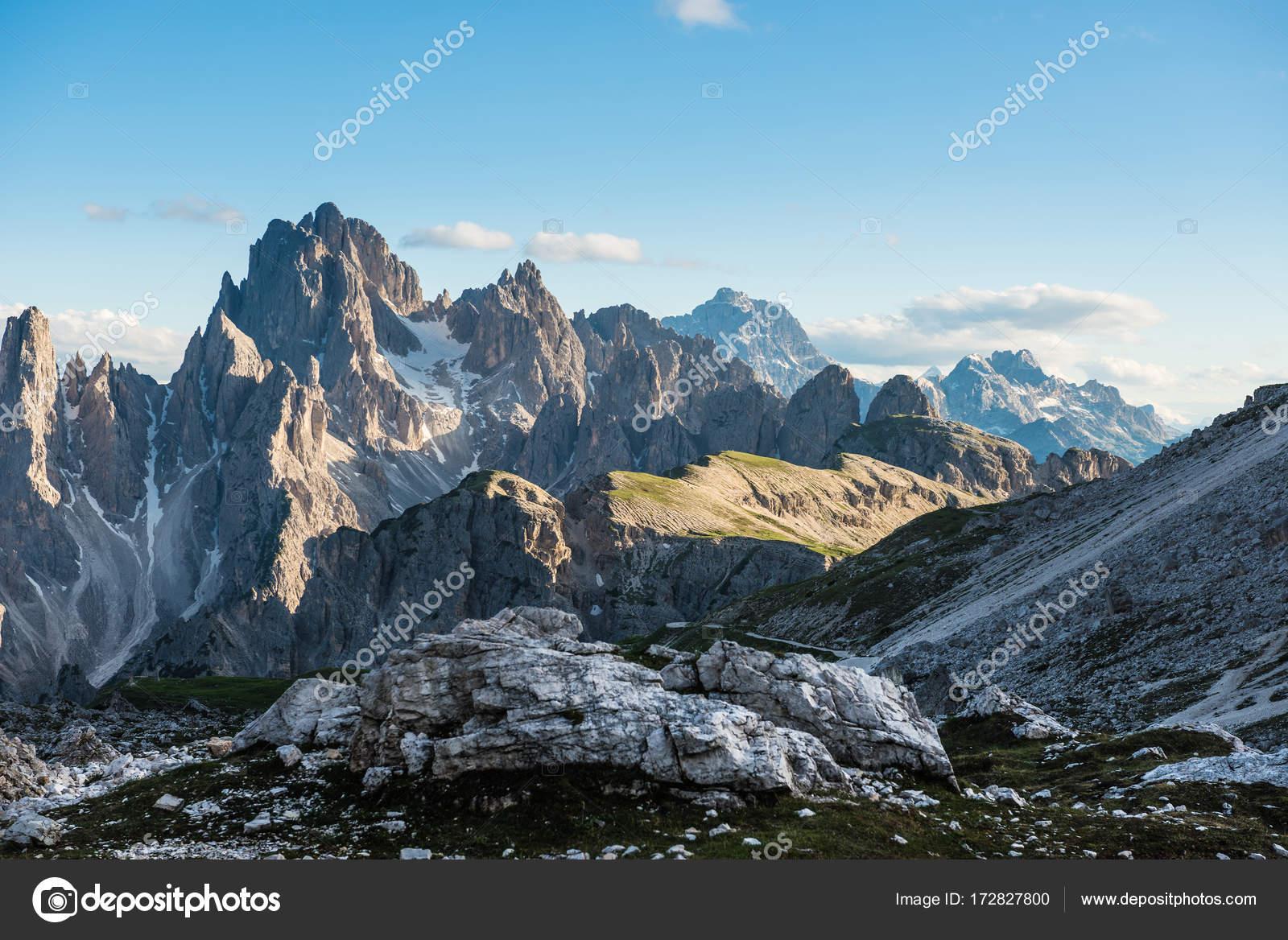 Tre Cime di Lavaredo. Δολομιτικές Άλπεις. Ιταλία — Φωτογραφία ...