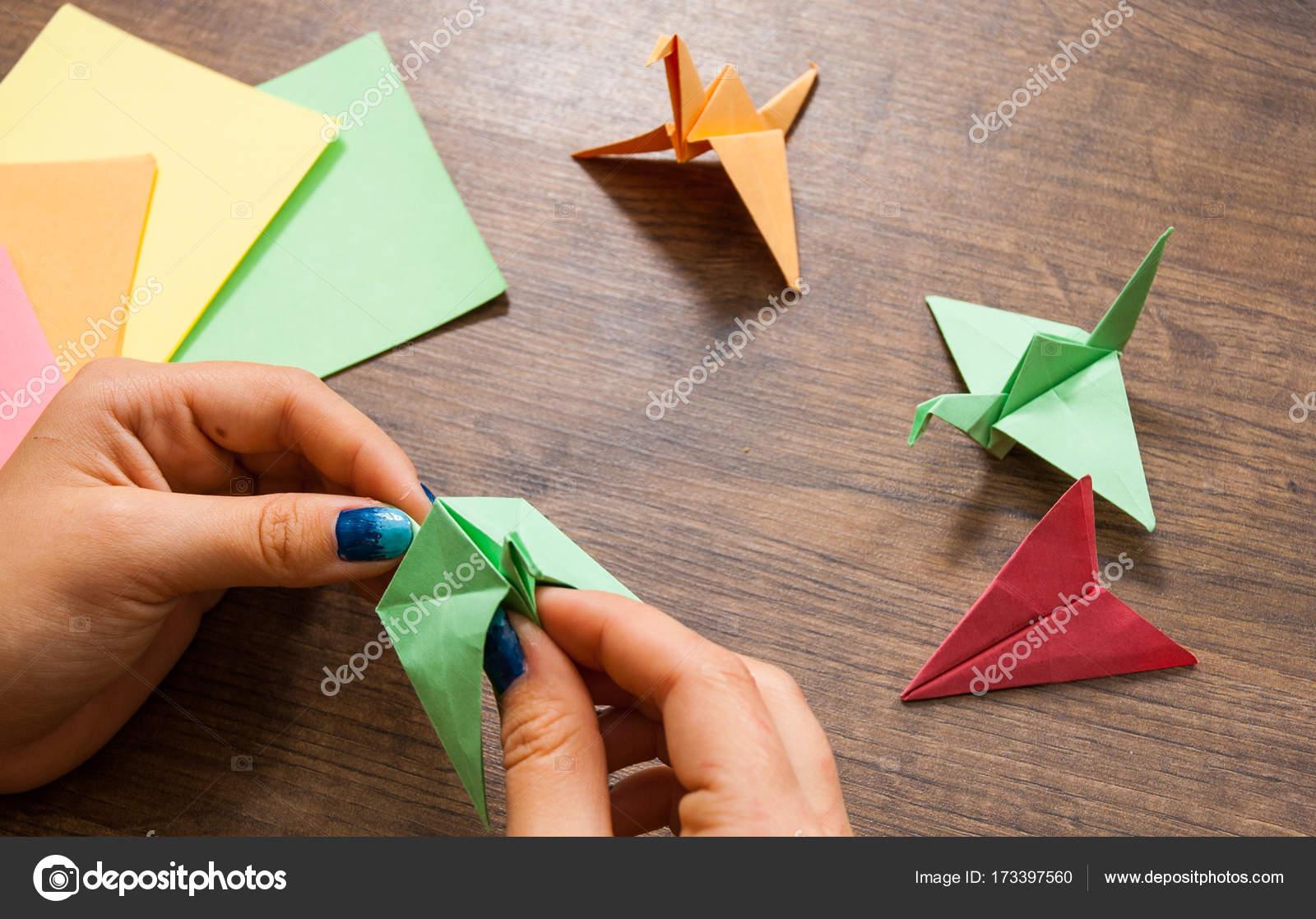 Juego Origami Para Ninos Creatividad Infantil Hecho De Papel