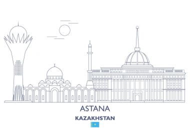 Astana  City Skyline, Kazakhstan