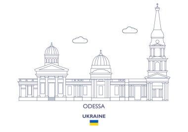 Odessa City Skyline, Ukraine