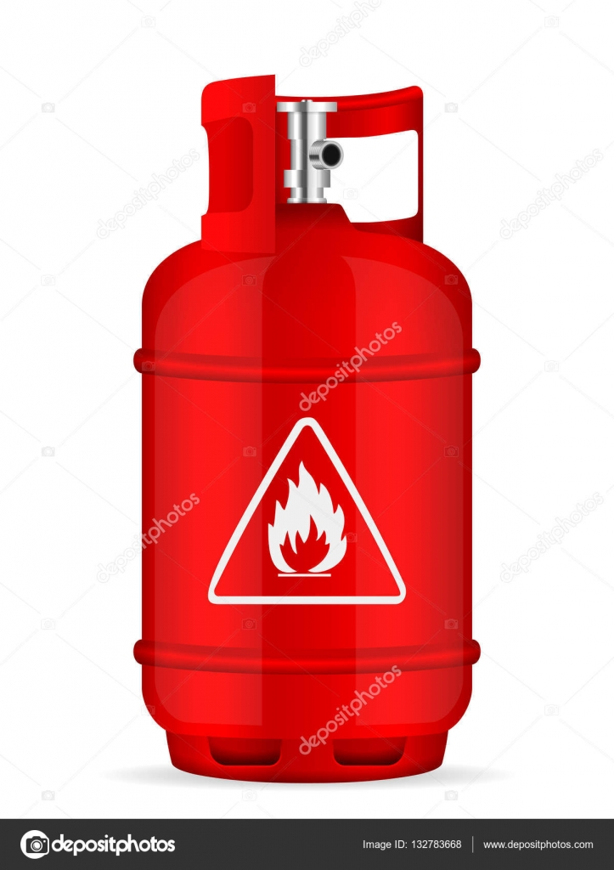 Cilindro de g s propano vetores de stock julydfg for Valor cilindro de gas