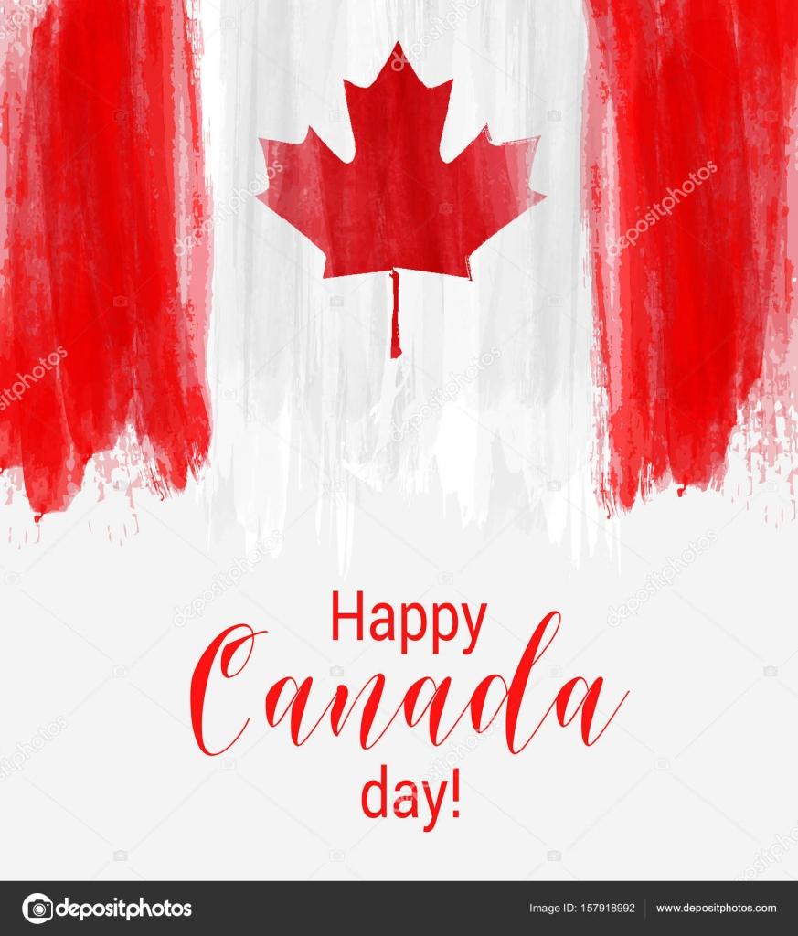 feliz fondo día de Canadá — Vector de stock © artlana #157918992