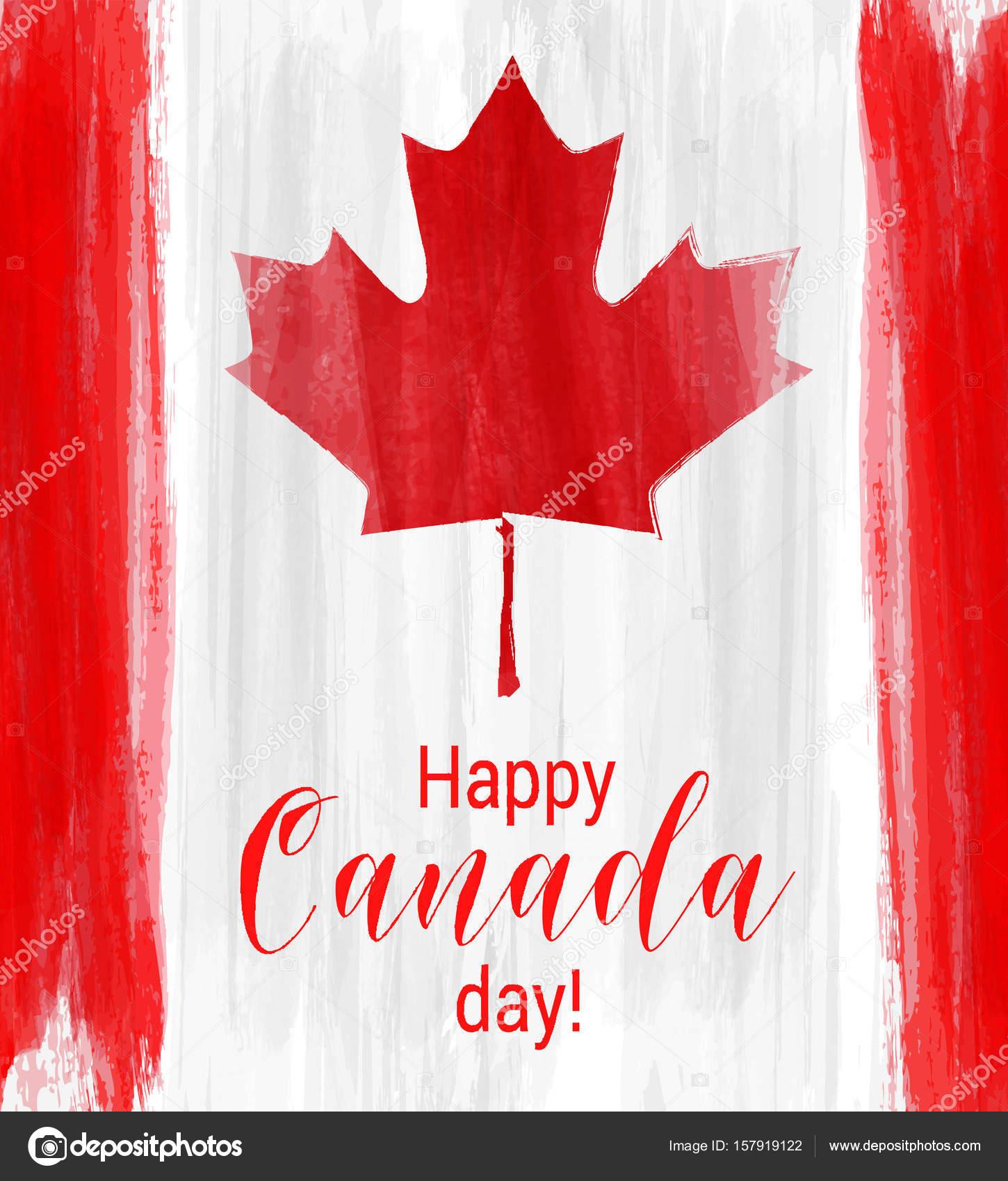 feliz fondo día de Canadá — Archivo Imágenes Vectoriales © artlana ...