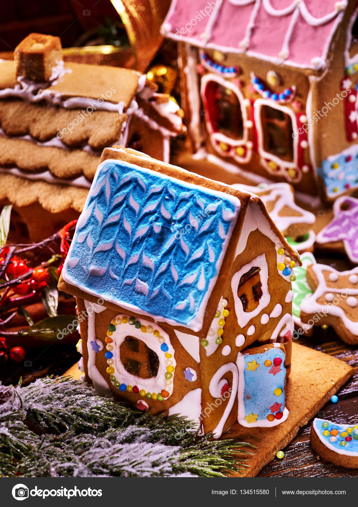 Decorate A Blue Roof House | simple small house design on butterfly roof designs, church roof designs, gingerbread house chimneys, gingerbread house masonry, garden roof designs, birdhouse roof designs, snow roof designs, gingerbread house details, gingerbread house roofing,