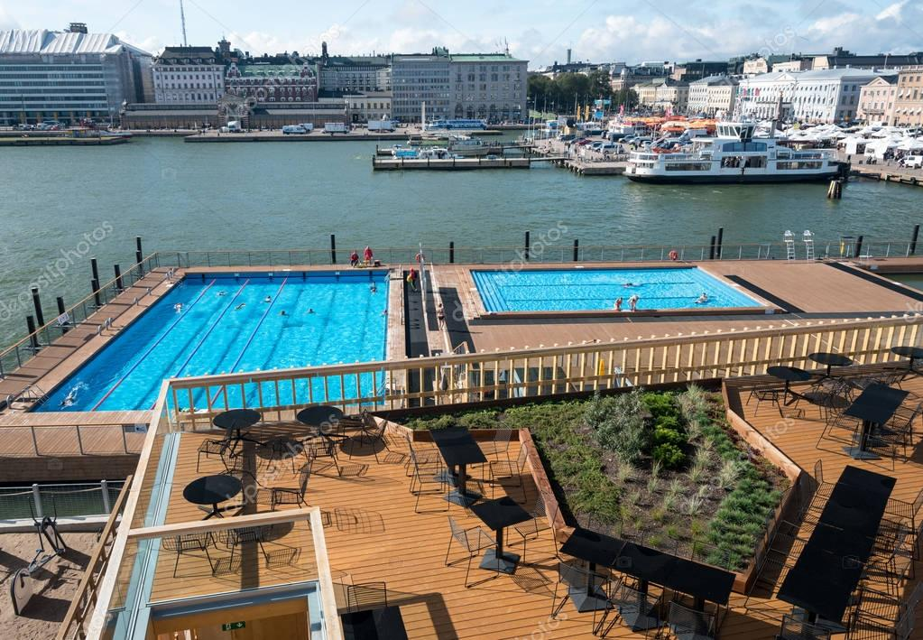 Swimming pools by market in Helsinki