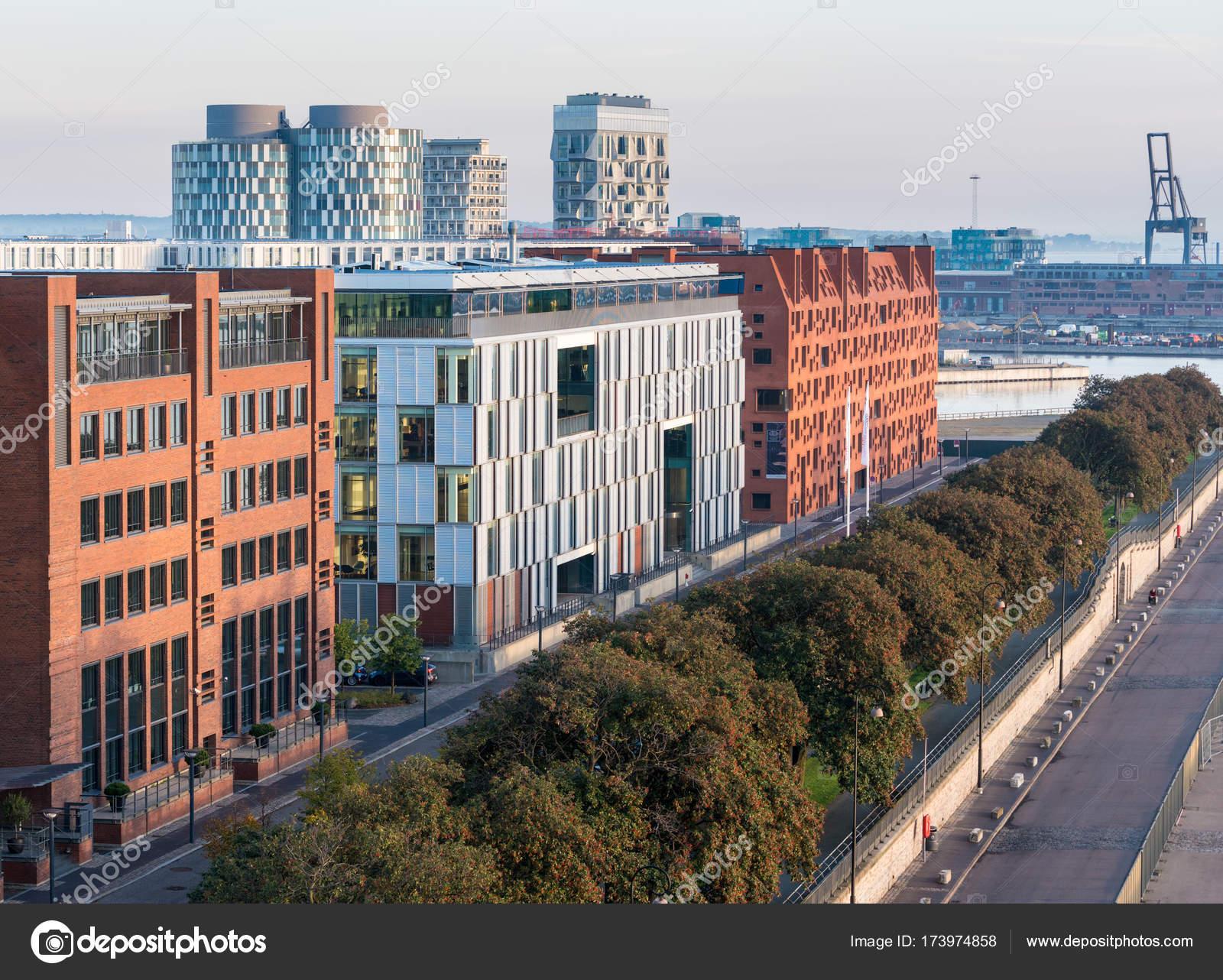 Oficinas Y Apartamentos En Copenhague Dinamarca Foto De Stock