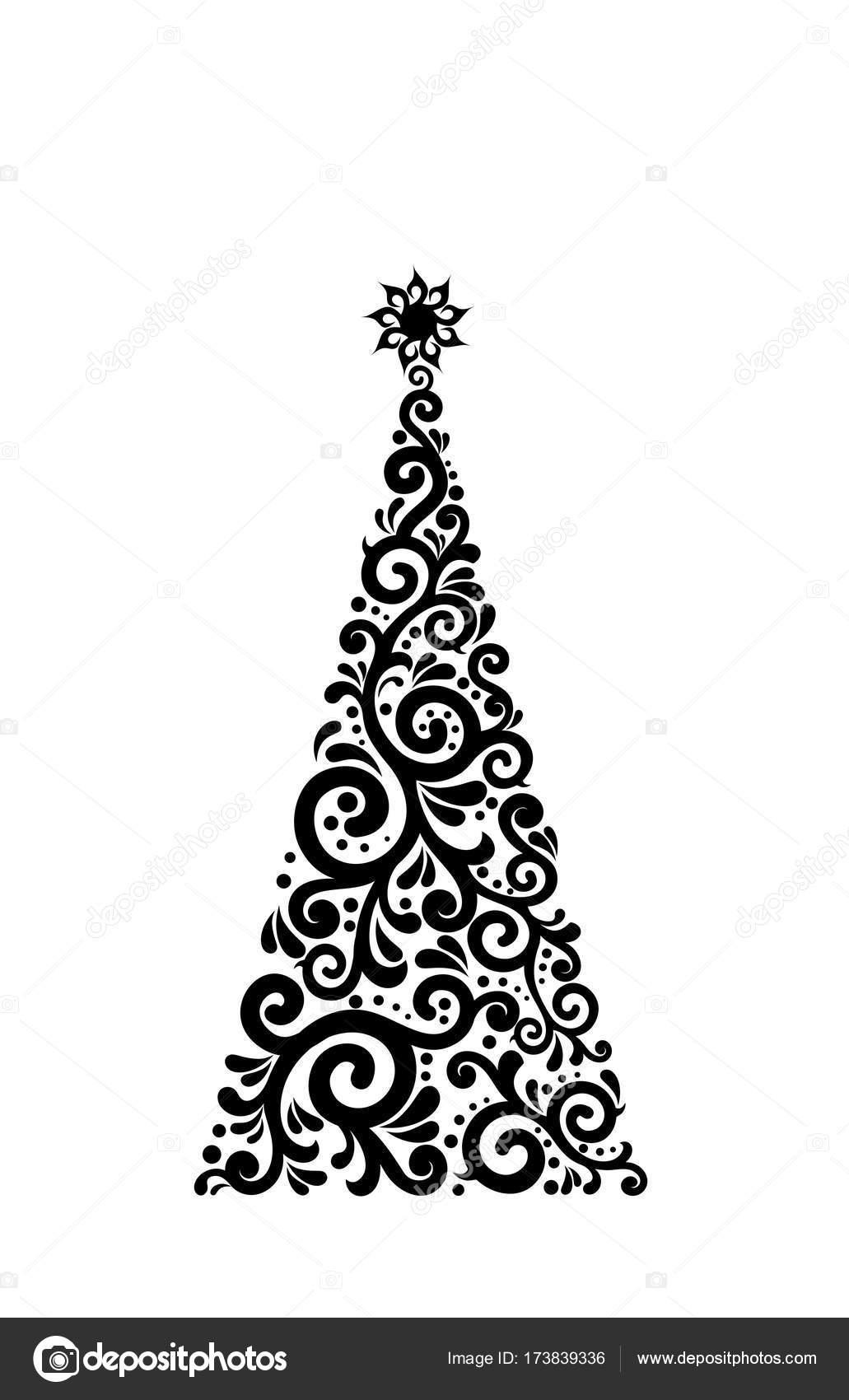 Moderner Weihnachtsbaum.Moderner Weihnachtsbaum Stockfoto C Dmylakl 173839336