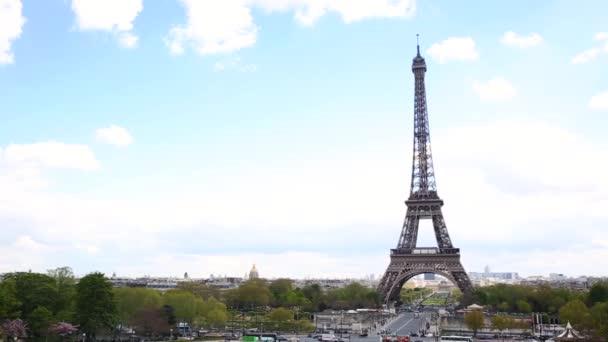 Paříž panoramatický pohled z Eiffelovy věže