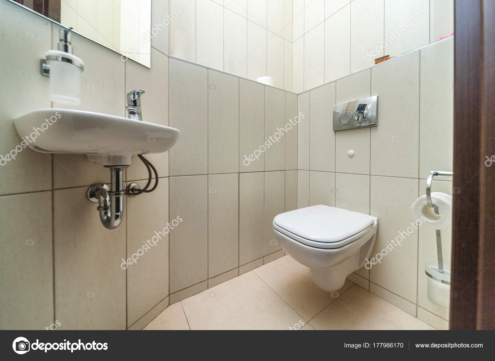 Toilet met wc u2014 stockfoto © olgasweet #177986170