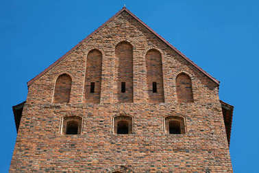 Tower of the Trakai Castle near Vilnius