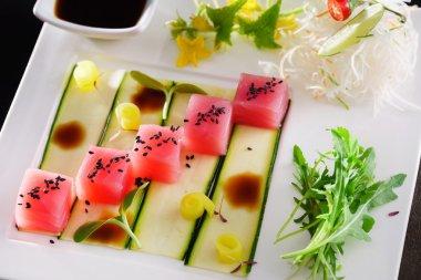 Delicious Tuna sashimi