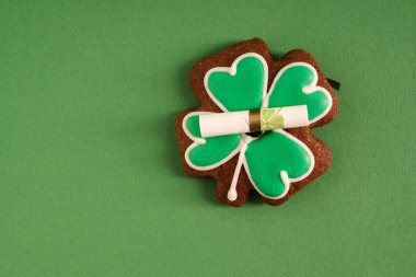 St Patricks cookie