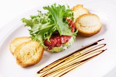 fresh tuna tartar