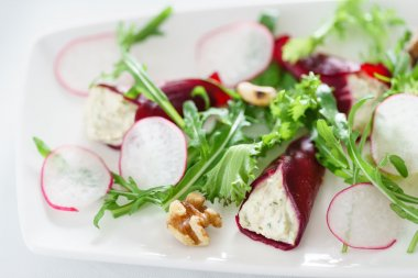 beetroot with goat cheese
