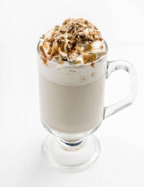 Delicious coffee latte