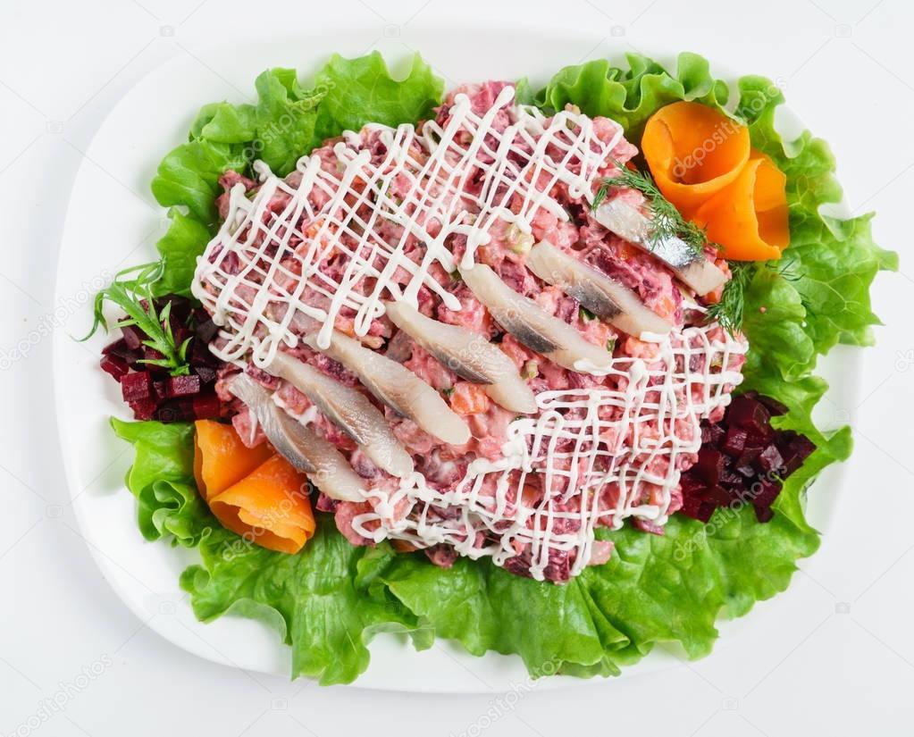 ผลการค้นหารูปภาพสำหรับ herring salad