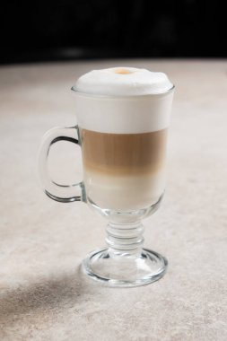 tasty dessert drink cappuccino