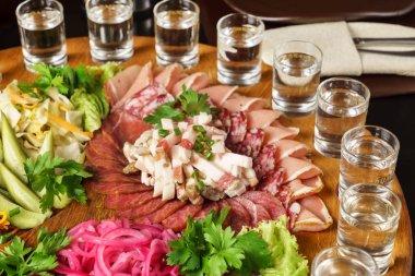 meat appetizer set