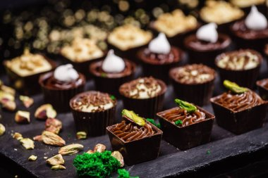 Different chocolate sweets
