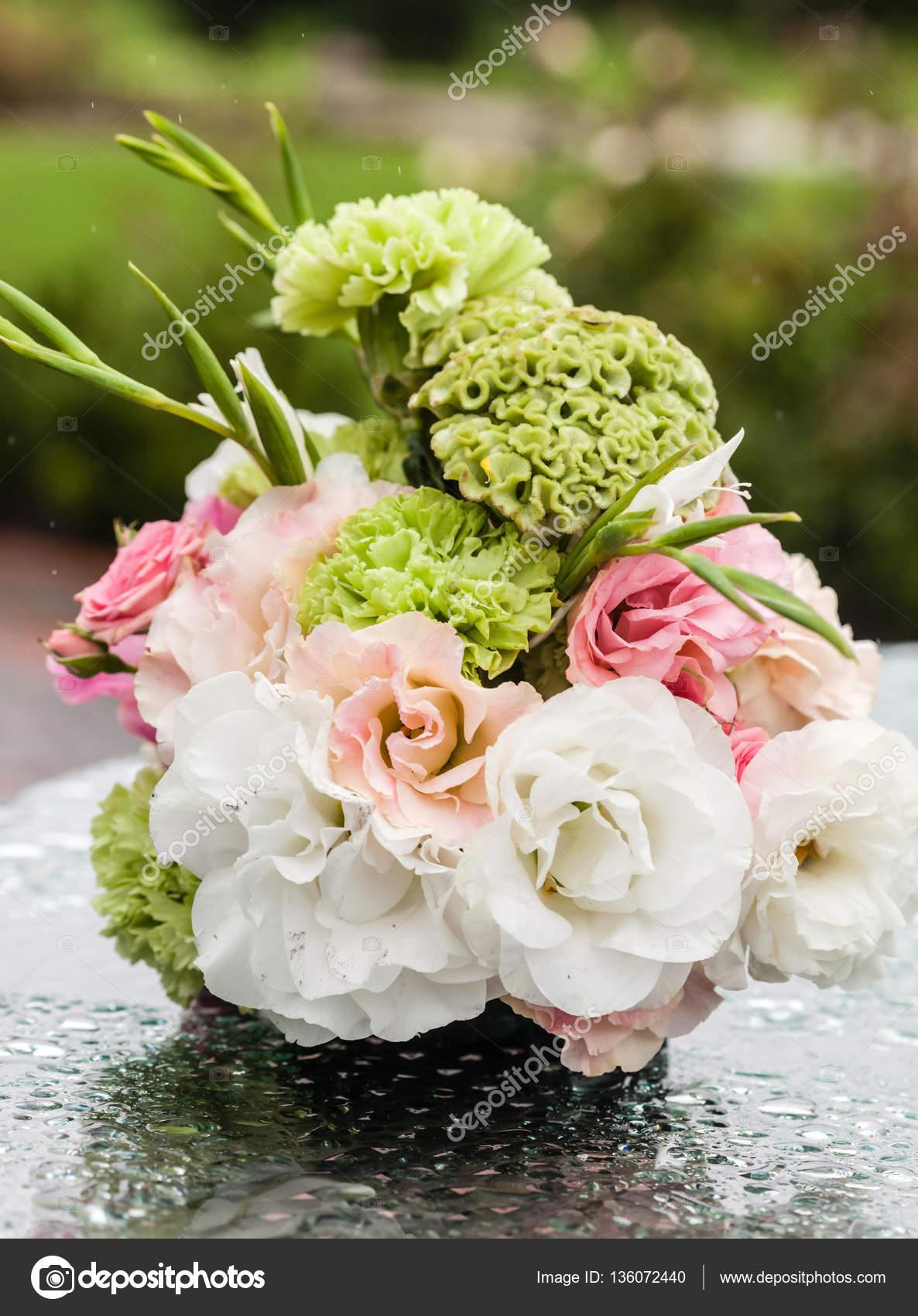 Nice Flower Bouquet Stock Photo Shebeko 136072440