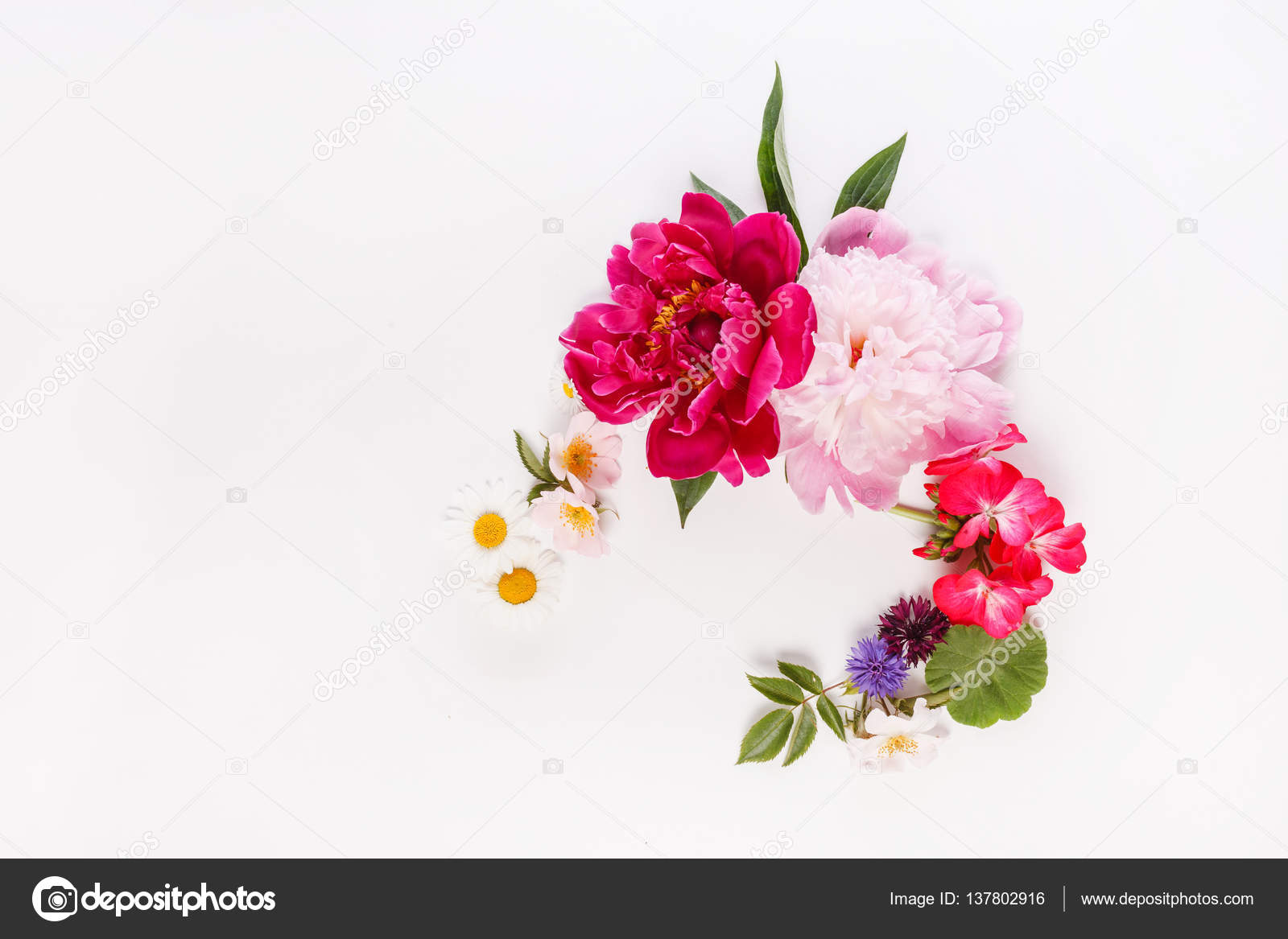 Beautiful flowers composition stock photo shebeko 137802916 nice beautiful flowers composition photo by shebeko izmirmasajfo