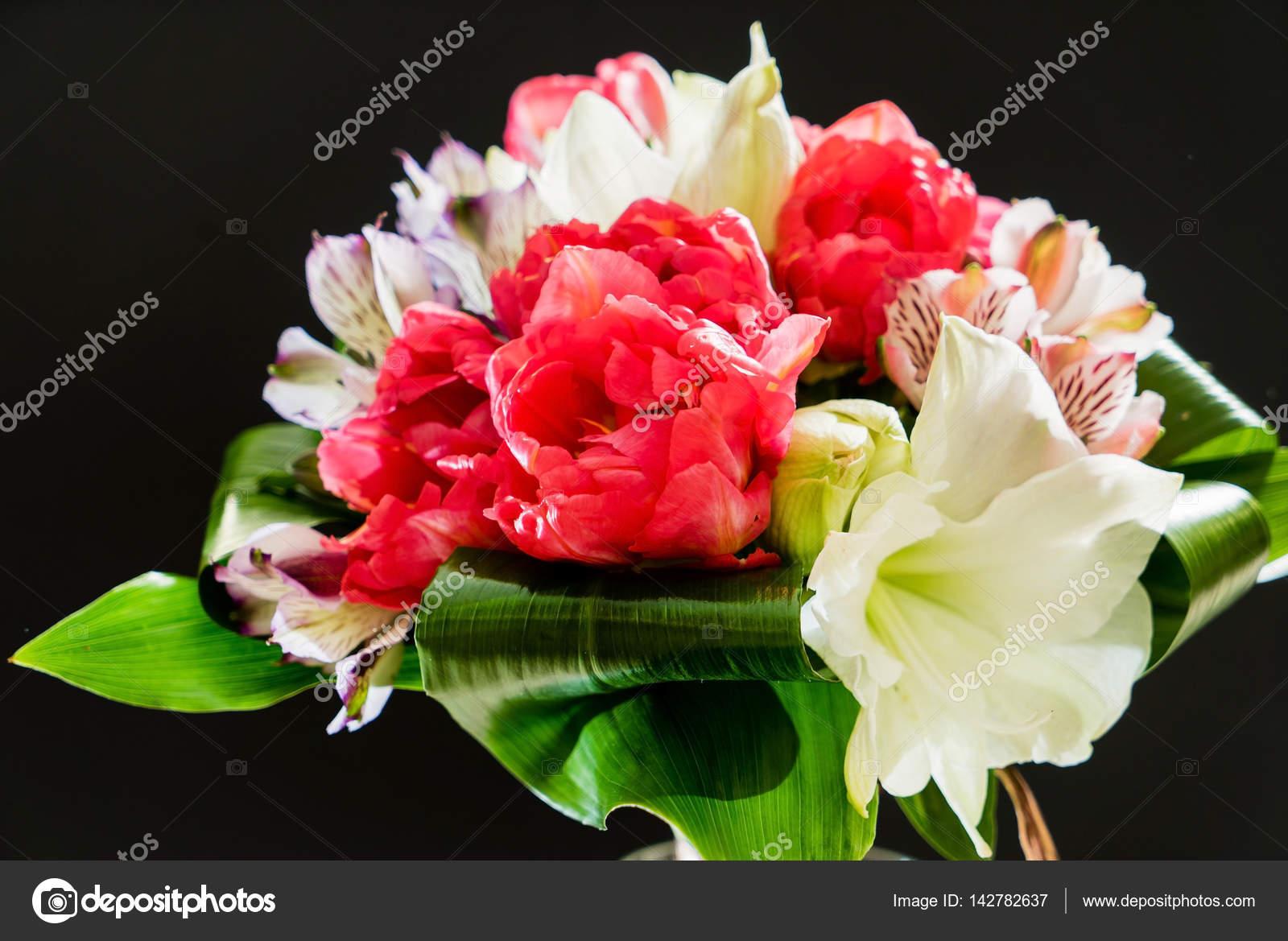 Nice Flower Bouquet Stock Photo Shebeko 142782637