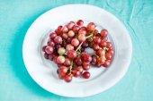 fresh ripe  grapes, close up