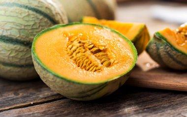 Fresh ripe melons