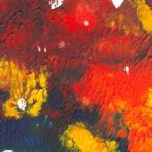 Fotografie akryl, malované pozadí