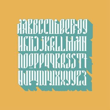 balalaika font set