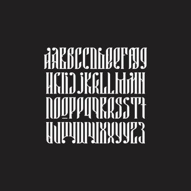 balalaika typeface set