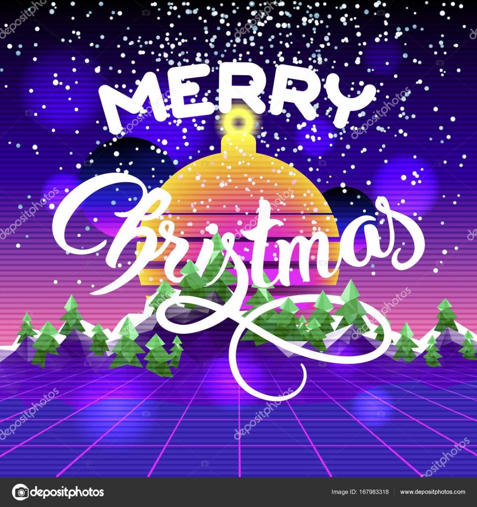 Frohe Weihnachten und ein glückliches neues Jahr-Glückwunsch-Karte ...