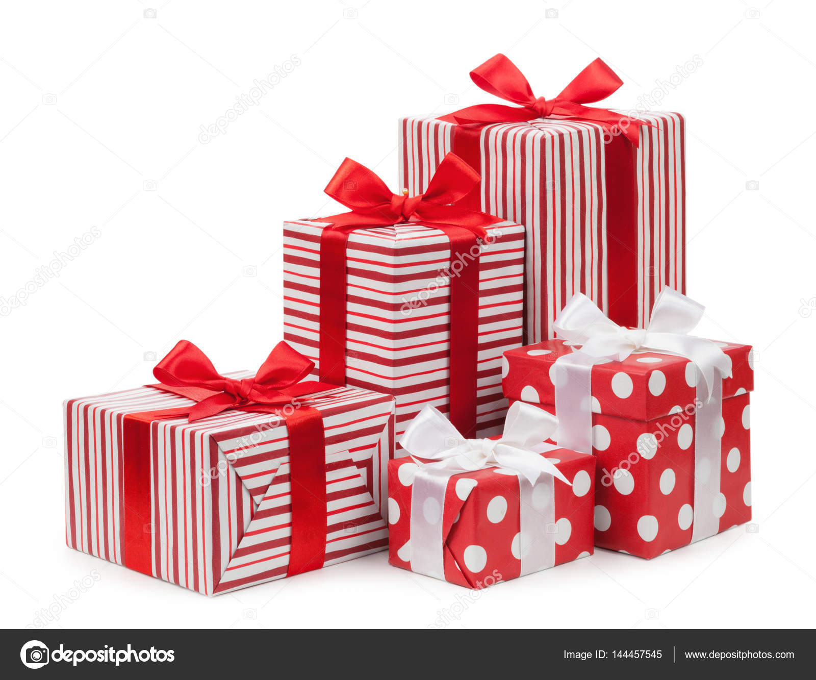Gift boxes red color isolated on white background stock photo gift boxes red color isolated on white background stock photo negle Image collections