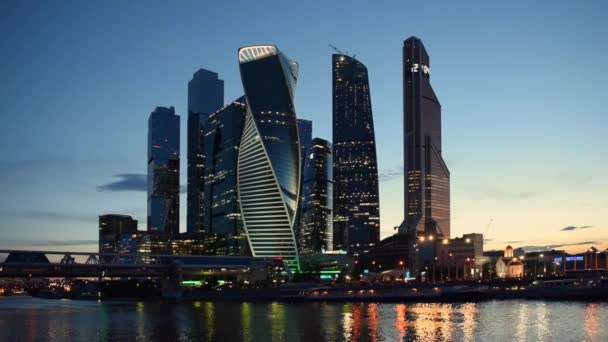 MOSCOW - August 04 2016: Moscow-city. International Business Center