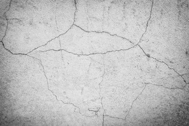 old cracked concret wall background texture.